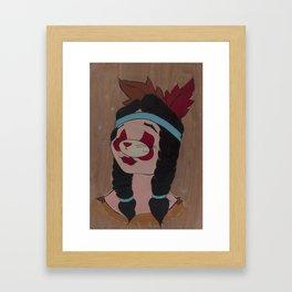 ex-Antelope Framed Art Print
