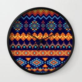 Batik Style 3 Wall Clock