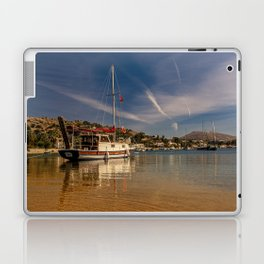 Just like the other day at the beach Laptop & iPad Skin