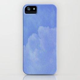 heaven smiles softly iPhone Case