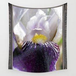 Miniature Tall Bearded Iris named Consummation Wall Tapestry