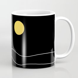 Black Ocean Coffee Mug