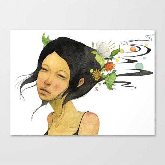 Shampoo  Canvas Print