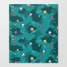 Deep Space Pattern Canvas Print