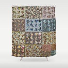 Chasoffart-Zodiac-p Shower Curtain