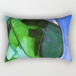 Abstraction 317H by Kathy Morton Stanion Rectangular Pillow