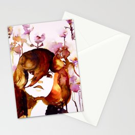 Flowered Stationery Cards