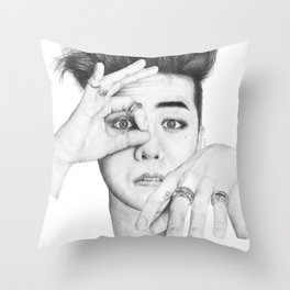 Crooked Throw Pillow