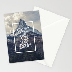DREAM A LITTLE DREAM Stationery Cards