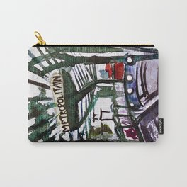 Paris Metro Sketch Chatelet Carry-All Pouch