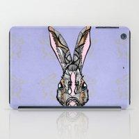 rabbit iPad Cases featuring Rabbit by SilviaGancheva