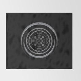Ancient art of magic Throw Blanket