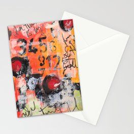 The Numbers Game Stationery Cards