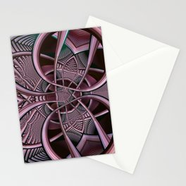 Mind-boggling, fractal abstract Stationery Cards