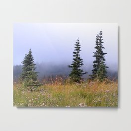 High Upon A Mountain Metal Print
