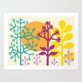 Ibiza flowers 2 Art Print