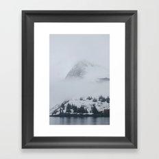 In the mist Framed Art Print