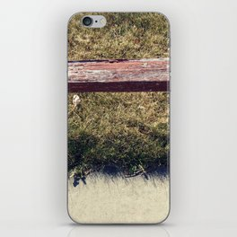 Ground // Grass // Grain iPhone Skin
