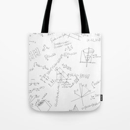 As Calculus Goes to Infinity... Tote Bag