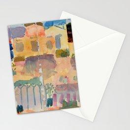 "Paul Klee ""Garden in St. Germain, The European Quarter Near Tunis 1914"" Stationery Cards"