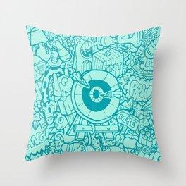 #MoleskineDaily_44 Throw Pillow