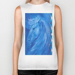 Blue Stallion Biker Tank