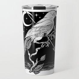 Night Crow Travel Mug