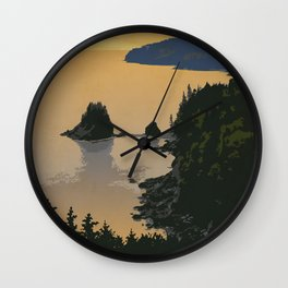 Fundy National Park Wall Clock