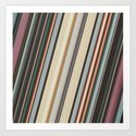 Earth Tone Stripes by perkinsdesigns