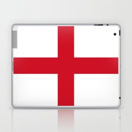 Flag of England (St. George's Cross) - Authentic version to scale and color Laptop & iPad Skin