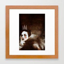 Delusion Angel Framed Art Print