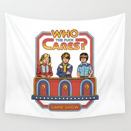 WHO CARES? Wall Tapestry