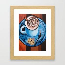 Cappucino Time Framed Art Print