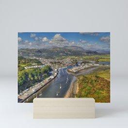 Glaslyn Estuary Mini Art Print