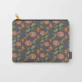 Pumpkin Patch Damask Carry-All Pouch
