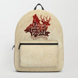 I solemnly swear Backpack