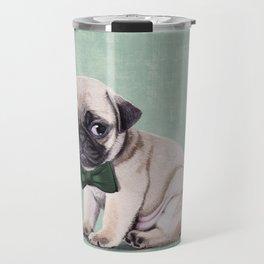 Angry Pug Travel Mug