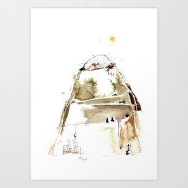 MOLEHILL Art Print