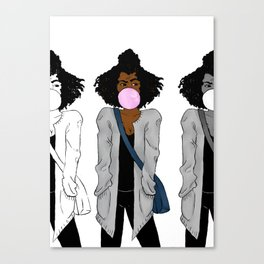 judging you (multi) Canvas Print