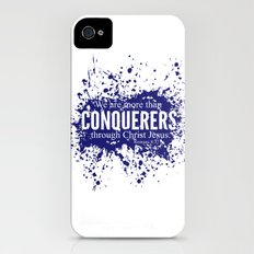 More Than Conquerers. Romans 8:37 Slim Case iPhone (4, 4s)