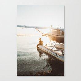 Seaplane Canvas Print