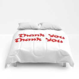 Seemed Like A Good Idea @ The Time  Comforters