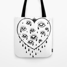 Eyes heart you Tote Bag