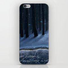 And Now My Watch Begins – Game Of Thrones Fan Art iPhone & iPod Skin