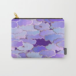Japanese Clouds, Twilight, Violet and Deep Purple Carry-All Pouch