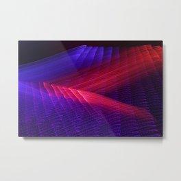 Light Dreamscape - Purple Road Metal Print