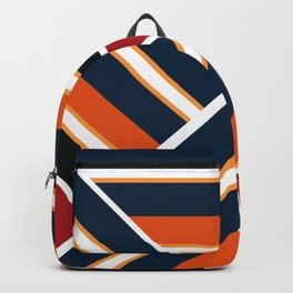 Retro . Combined stripes . Backpack