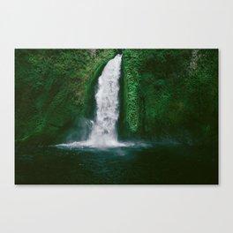 Wahclella Waterfall Canvas Print
