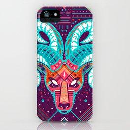 Symmetric Animals. RAM iPhone Case