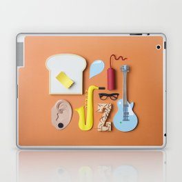 PAPER MINGLE MANGLE Laptop & iPad Skin